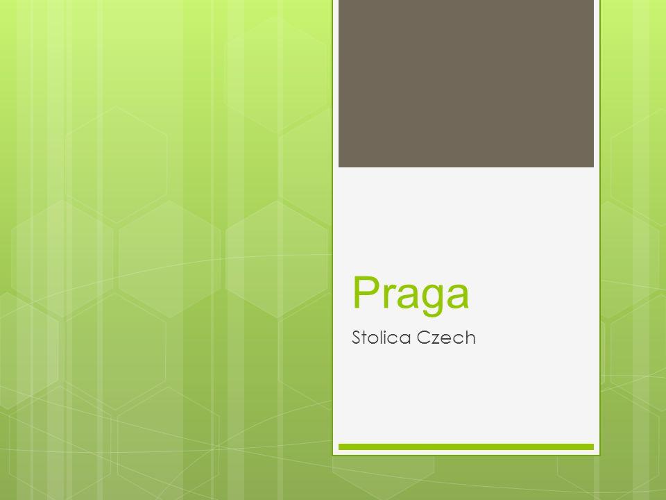 Położenie miasta  Praga – stolica i największe miasto Republiki Czeskiej, położone w środkowej części kraju, nad Wełtawą.