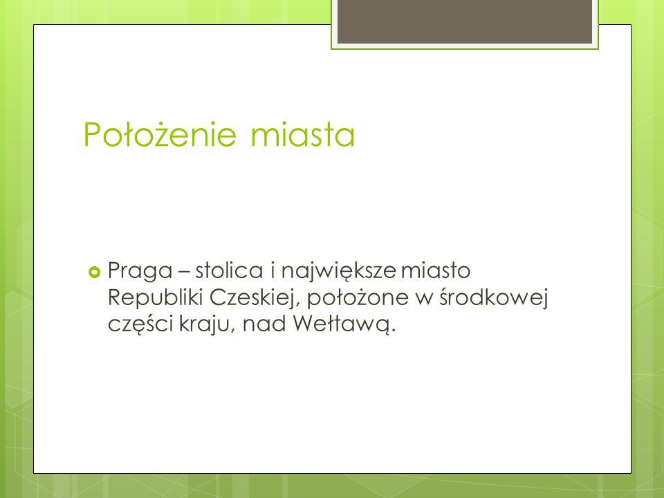 Skąd pochodzi nazwa Pragi.