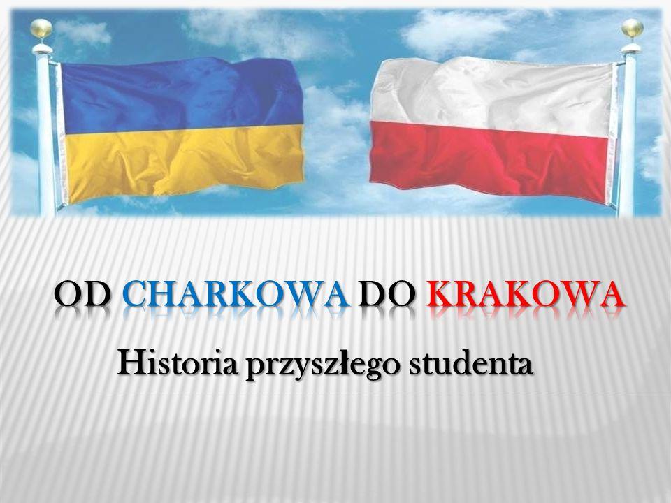 Charków i Kraków s ą podobne Ko ś ció ł Mariacki, Kraków Dom z iglic ą, Charków