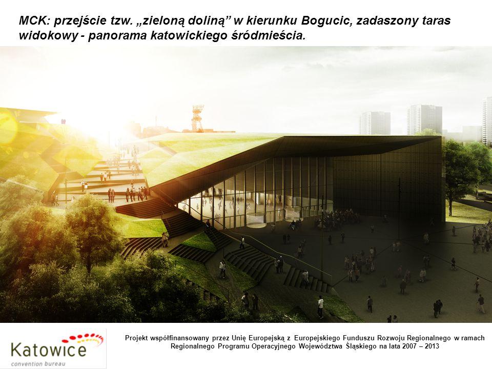 Projekt współfinansowany przez Unię Europejską z Europejskiego Funduszu Rozwoju Regionalnego w ramach Regionalnego Programu Operacyjnego Województwa Śląskiego na lata 2007 – 2013