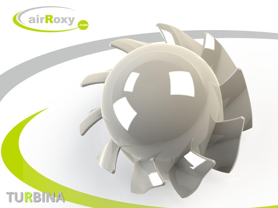 PROJEKT TURBINY DLA WENTYLATORÓW O PRZYŁĄCZU FI 100 ZAŁOŻENIA PROJEKTOWE: 1.Uzyskanie maksymalnego przepływu strumienia objętości płynu ( uzyskanie przepływu 100m3/h przy średnicy aktywnej wentylacji fi 91mm ).