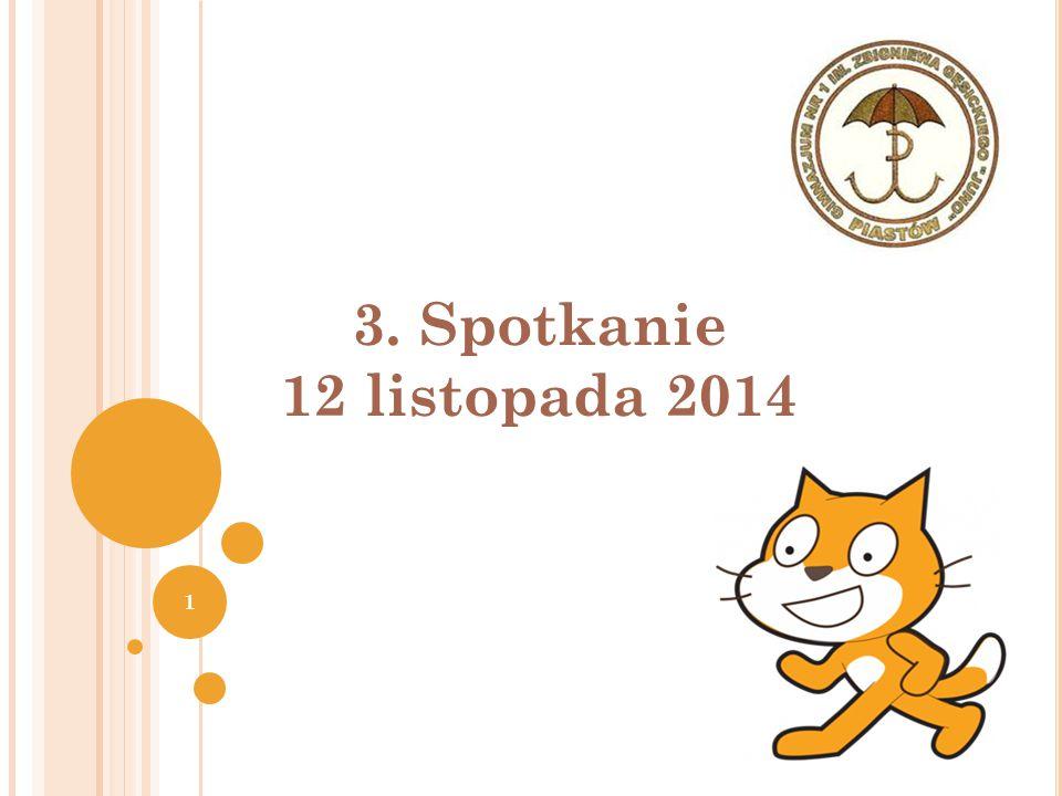 3. Spotkanie 12 listopada 2014 Joanna Brzozowska 1