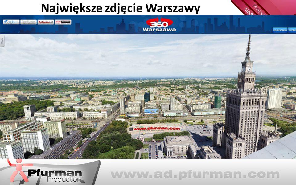 Największe zdjęcie Warszawy
