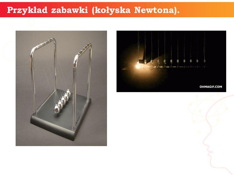 informatyka + 6 Przykład zabawki (kołyska Newtona).