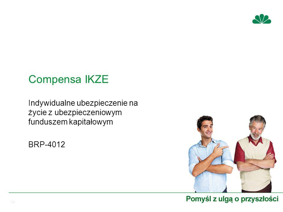 38 Indywidualne ubezpieczenie na życie z ubezpieczeniowym funduszem kapitałowym BRP-4012 Compensa IKZE