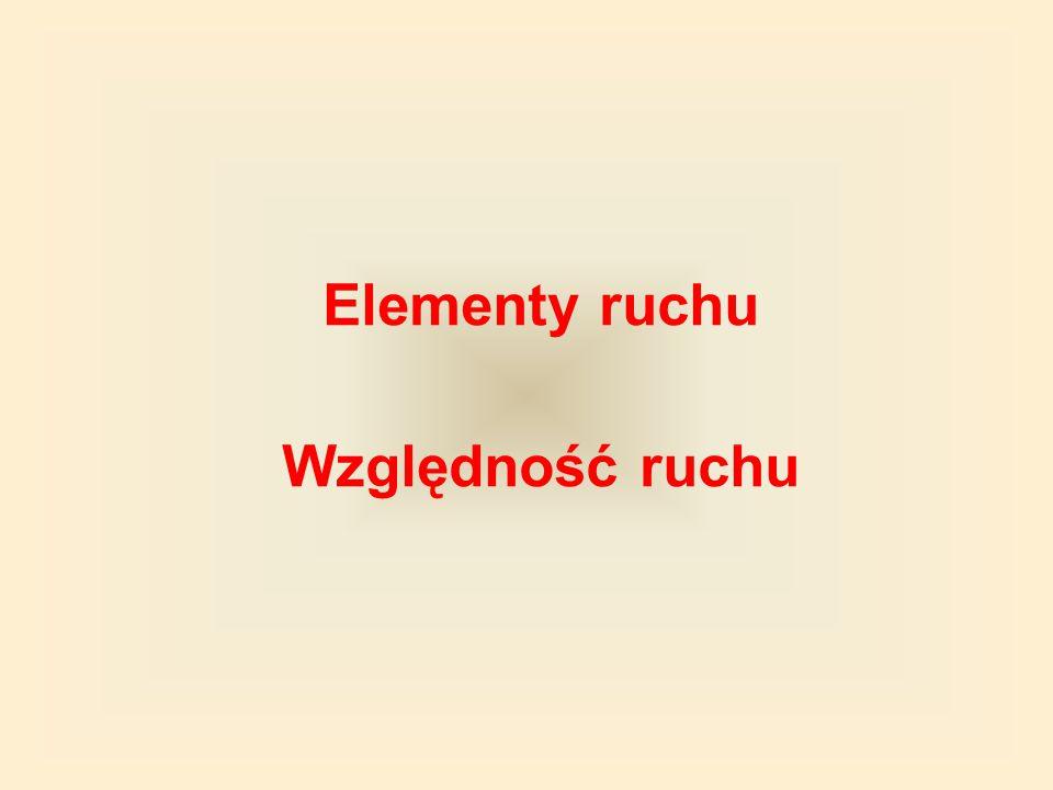 Δr P K s Δ – grecka litera delta Przemieszczenie oznaczamy Δr Przemieszczenie jest wielkością wektorową.