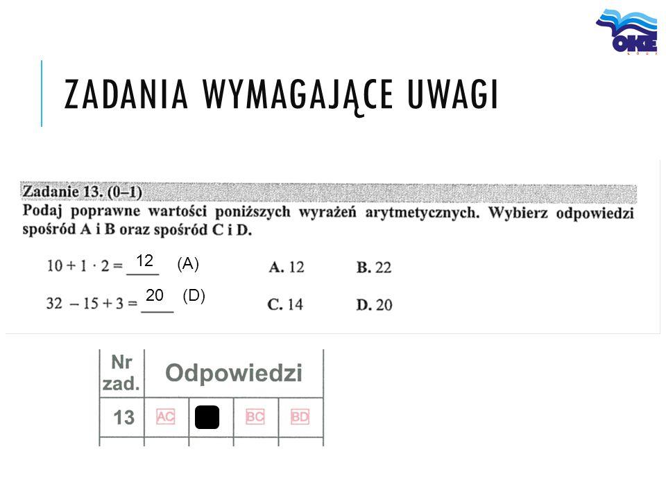 (A) (D) 12 20
