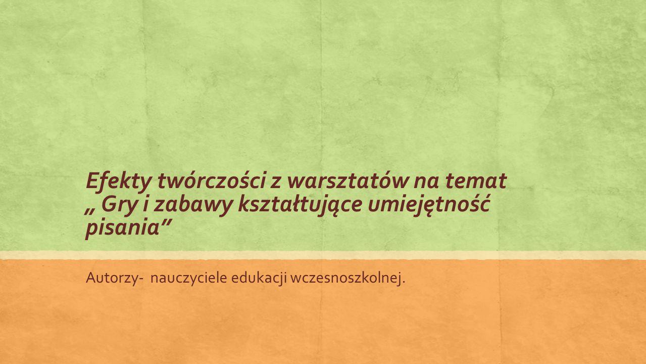 Edyta Łuczak Małgorzata Góralczyk Barbara Cegiełka Muszelka Muszelka, moja muszelka znalazłam ją na plaży.