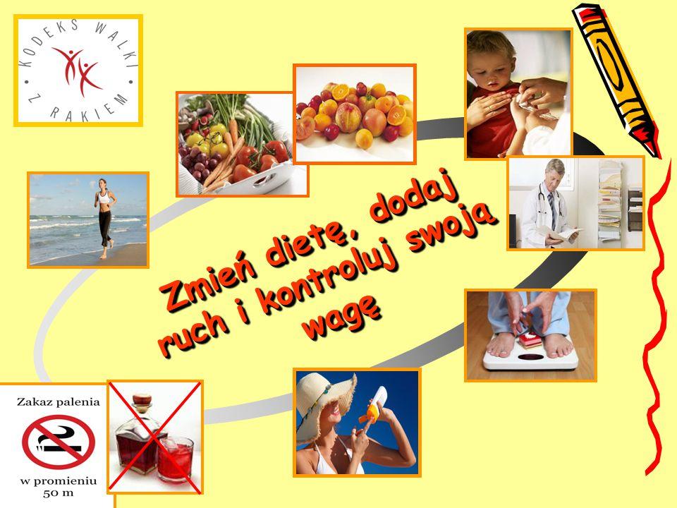 Zmień dietę, dodaj ruch i kontroluj swoją wagę