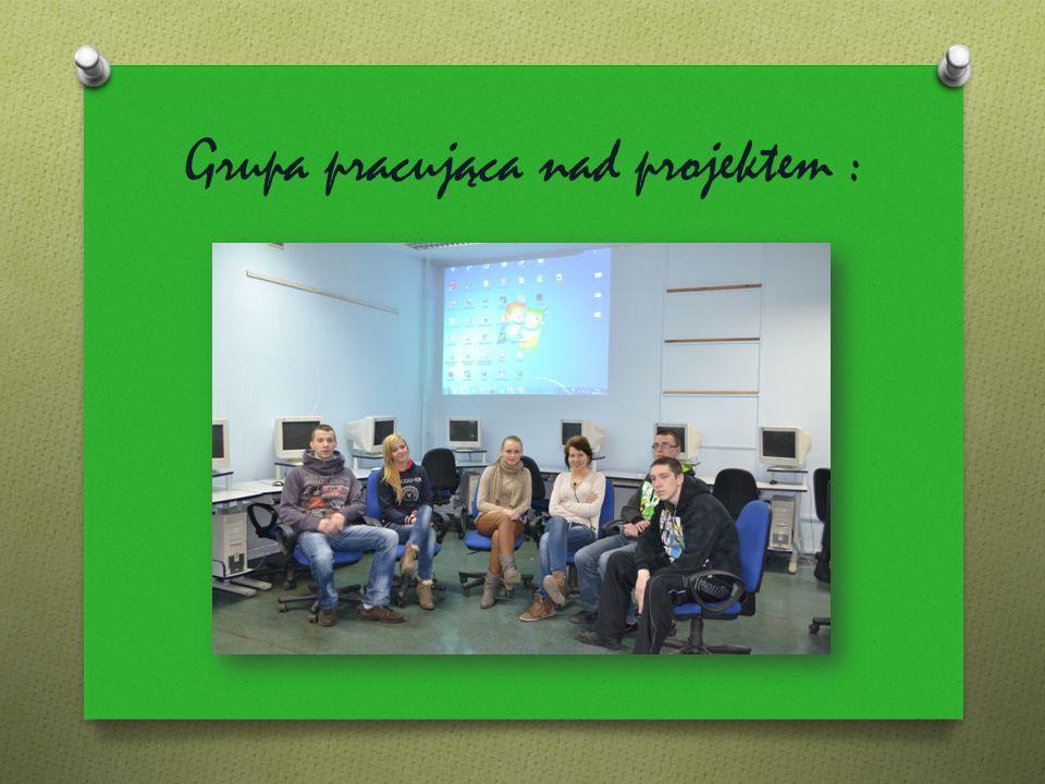 Grupa pracująca nad projektem :