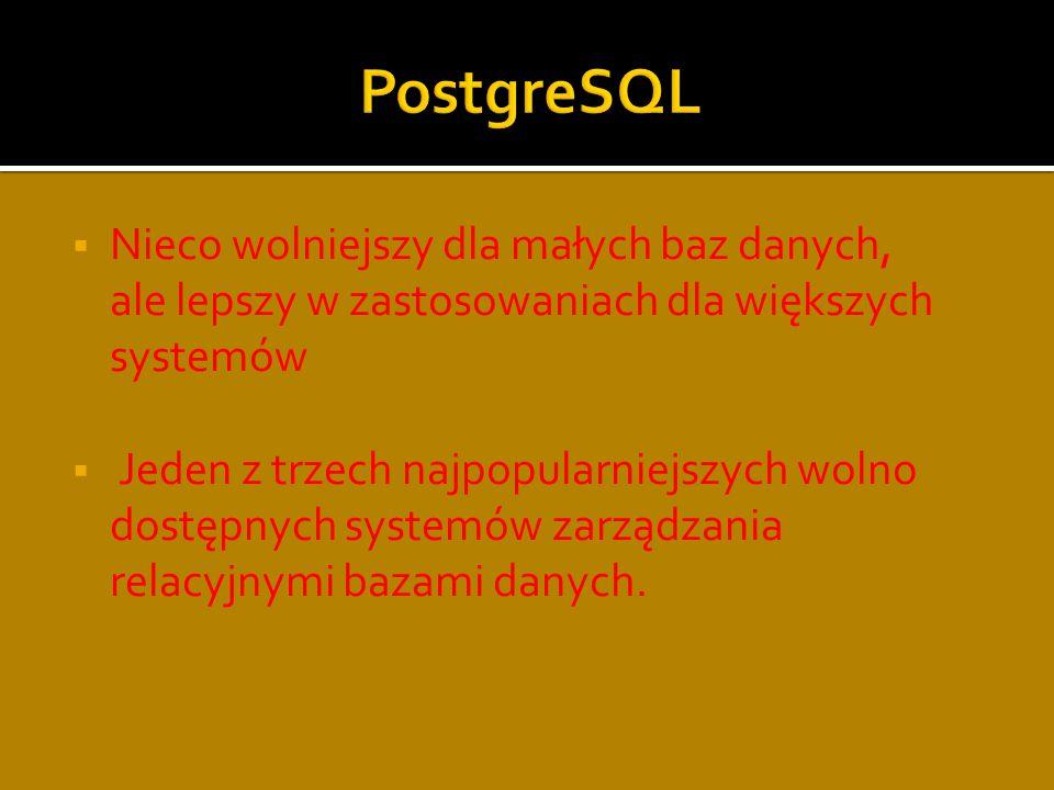 System zarządzania relacyjnymi bazami danych zgodny ze standardem ANSI SQL-92; obok MySQL oraz PostgreSQL jest jednym z trzech najpopularniejszych wolno dostępnych systemów zarządzania bazą danych.