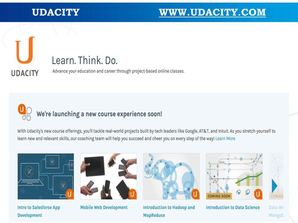 UDACITY WWW.UDACITY.COM