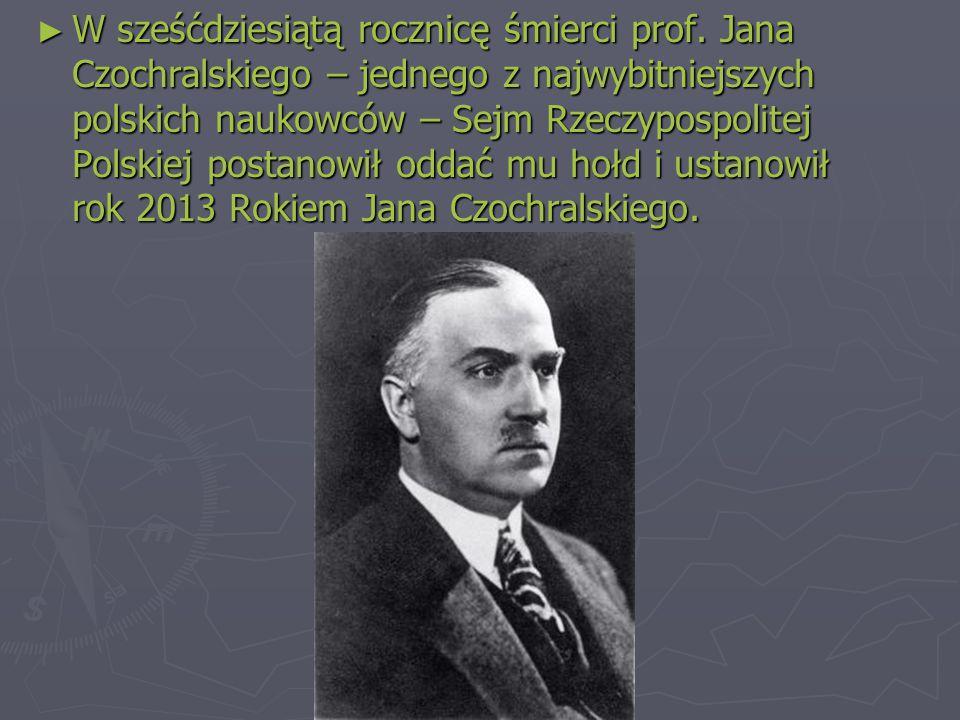 ► W sześćdziesiątą rocznicę śmierci prof.