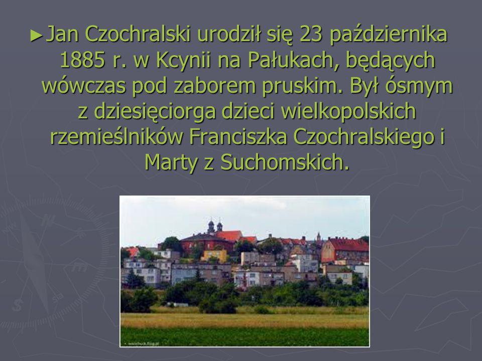 ► Jan Czochralski urodził się 23 października 1885 r.