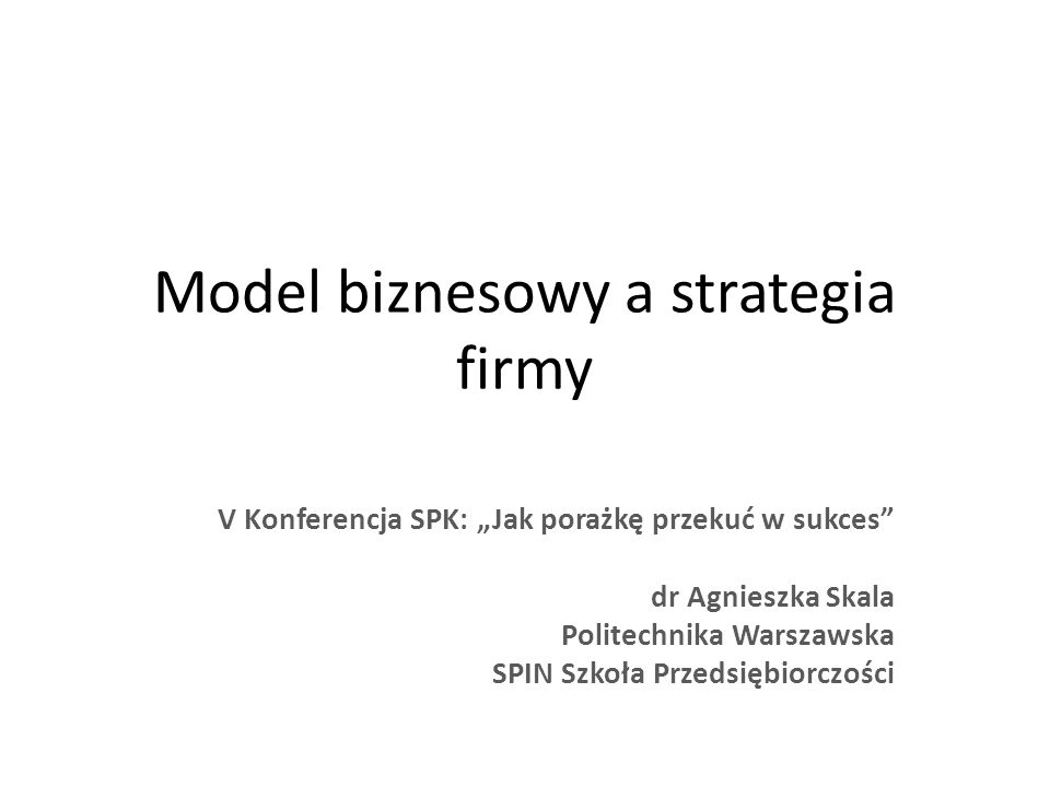 startupfirma Planowanie Biznesowe