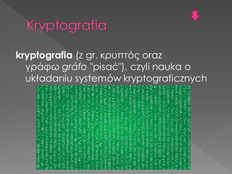 kryptografia (z gr.