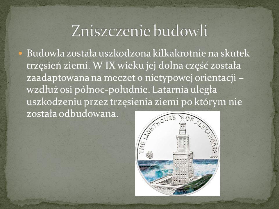 Wieża została ostatecznie zniszczona przez trzęsienie w 1375.