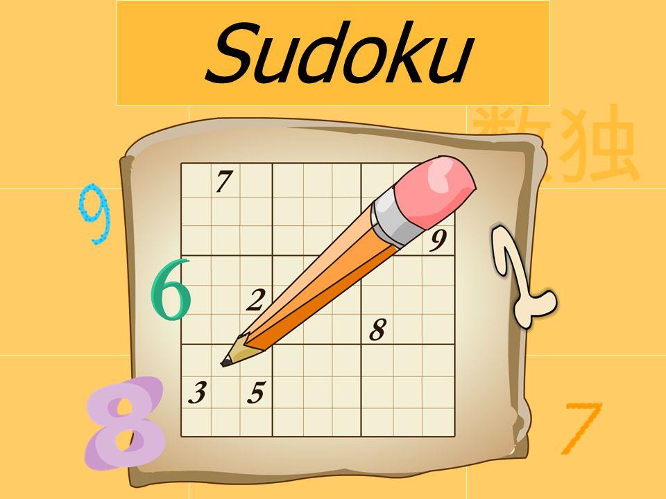 Co to jest Sudoku.Sudoku (jap.