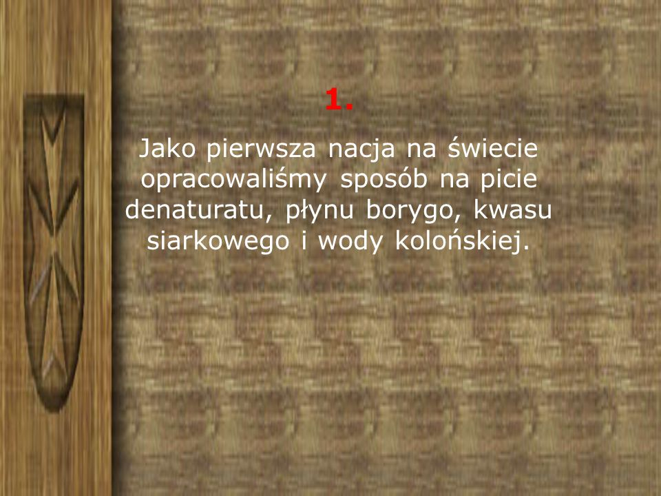 2. Pewien grabarz z Krakowa miał we krwi 9,5 promila alkoholu i przeżył.