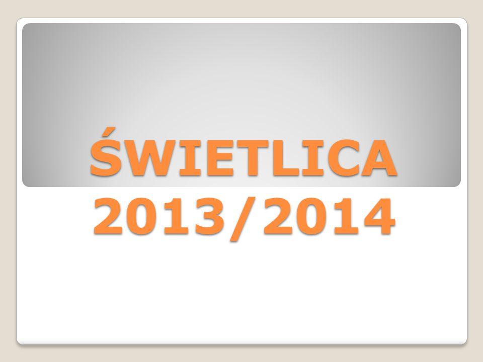 ŚWIETLICA 2013/2014