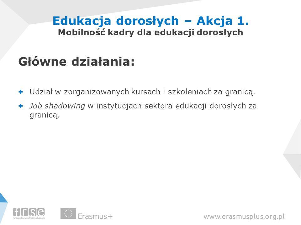 Edukacja dorosłych – Akcja 1.