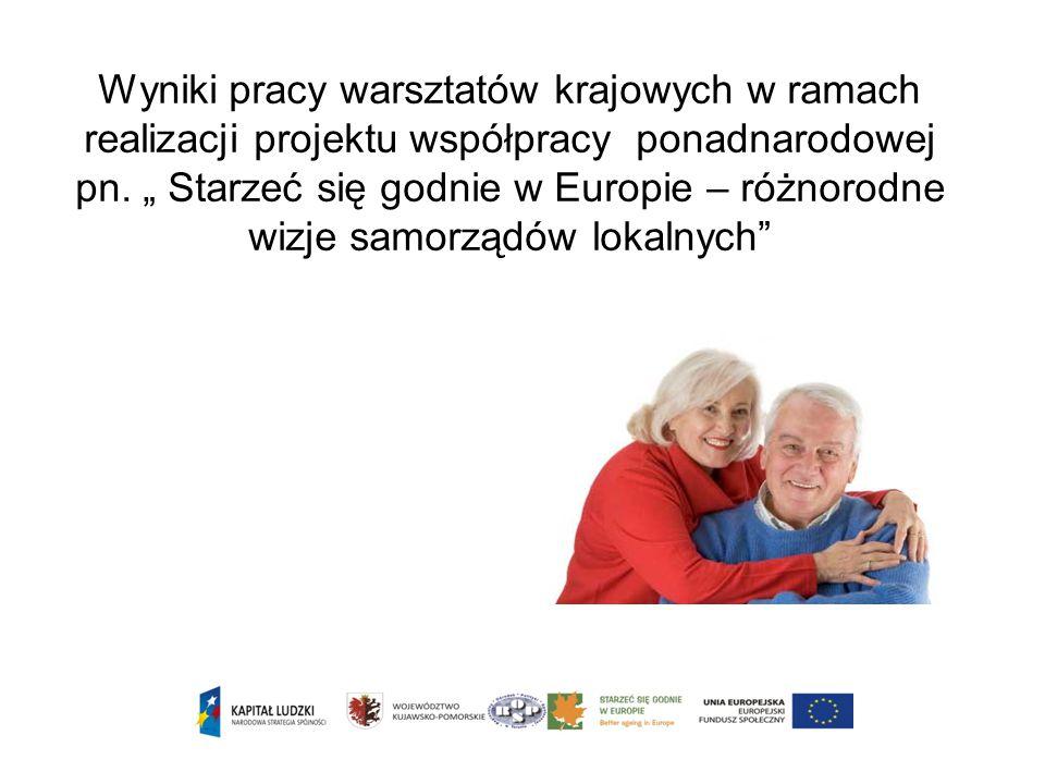 Wyniki pracy warsztatów krajowych w ramach realizacji projektu współpracy ponadnarodowej pn.