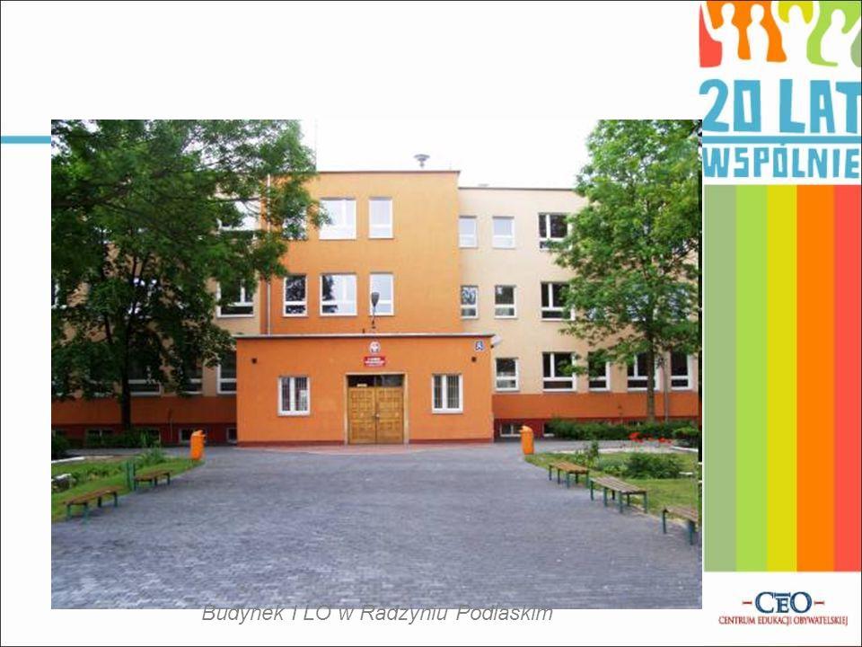 Budynek I LO w Radzyniu Podlaskim