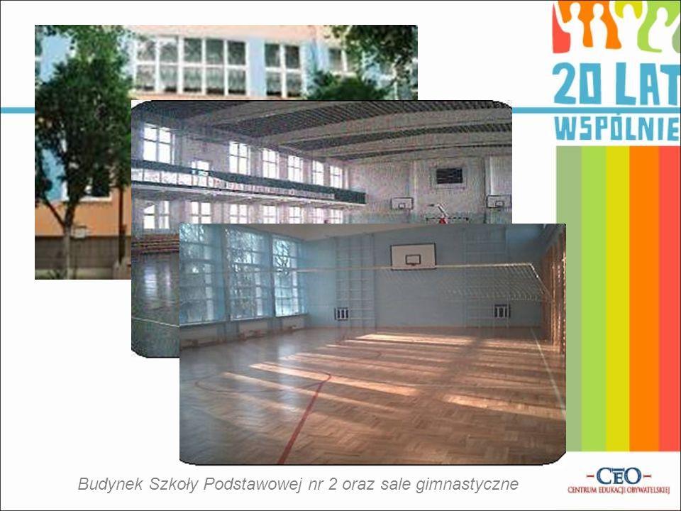 Budynek Szkoły Podstawowej nr 2 oraz sale gimnastyczne