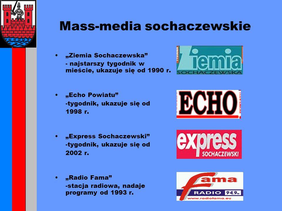 """Mass-media sochaczewskie """"Ziemia Sochaczewska - najstarszy tygodnik w mieście, ukazuje się od 1990 r."""