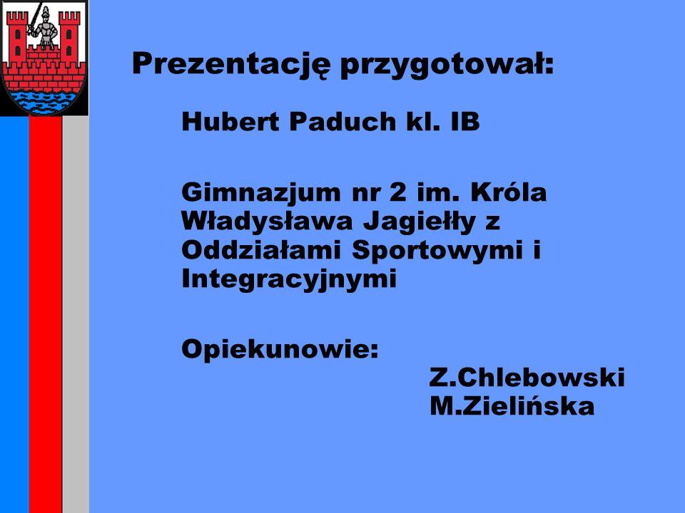 Prezentację przygotował: Hubert Paduch kl. IB Gimnazjum nr 2 im.