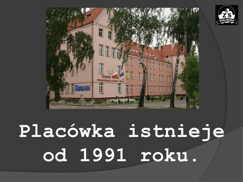 Placówka istnieje od 1991 roku.
