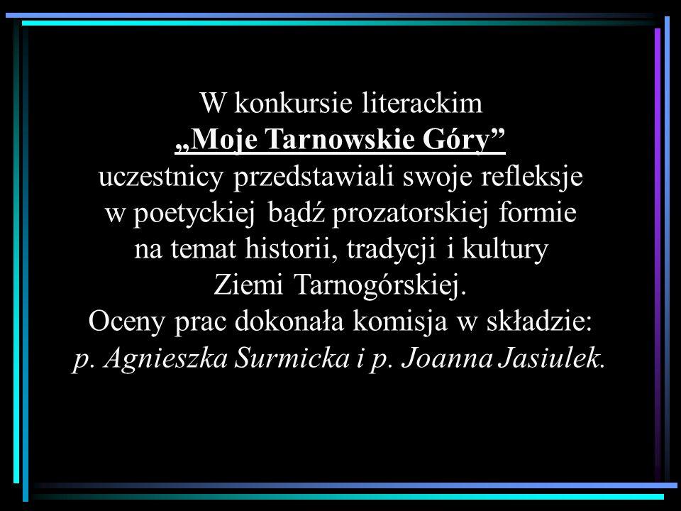 """W konkursie literackim """"Moje Tarnowskie Góry"""" uczestnicy przedstawiali swoje refleksje w poetyckiej bądź prozatorskiej formie na temat historii, trady"""