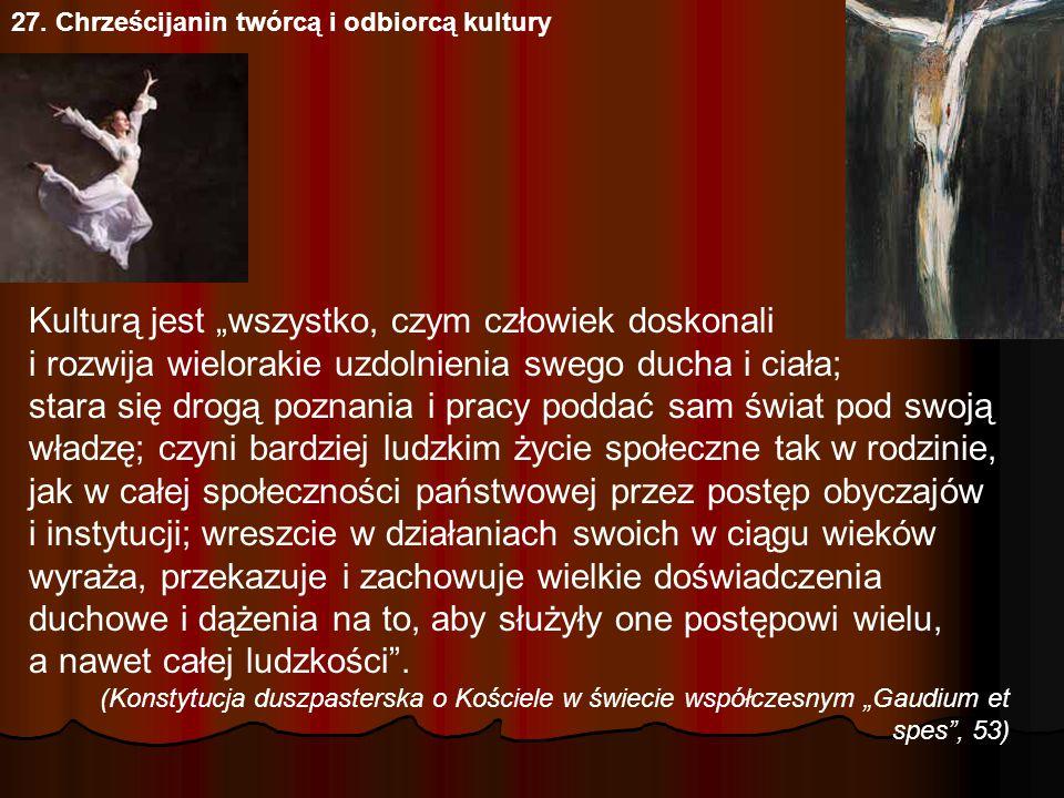27. Chrześcijanin twórcą i odbiorcą kultury Michał Anioł, Stworzenie Adama