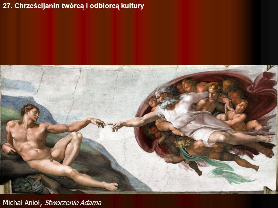27. Chrześcijanin twórcą i odbiorcą kultury Michał Anioł, MojżeszMichał Anioł, Pieta