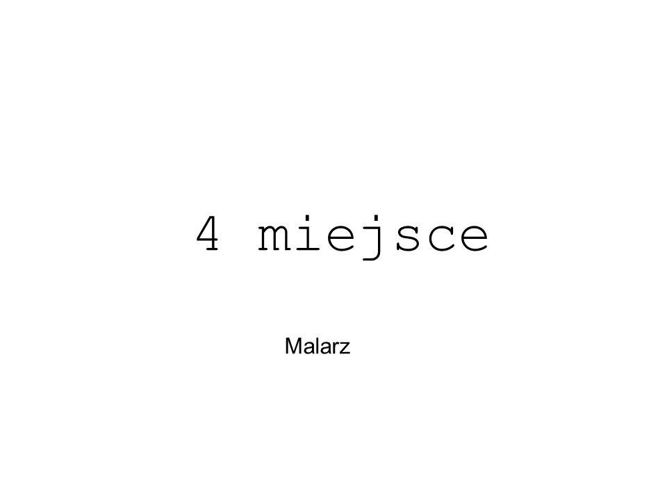 Malarz 4 miejsce