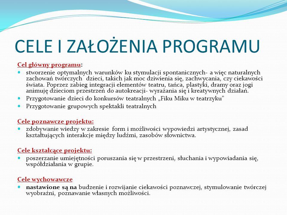 Zajęcia w przedszkolu prowadzi: Agnieszka Kołodyńska- animator kultury i psychopedagog z wykształcenia.