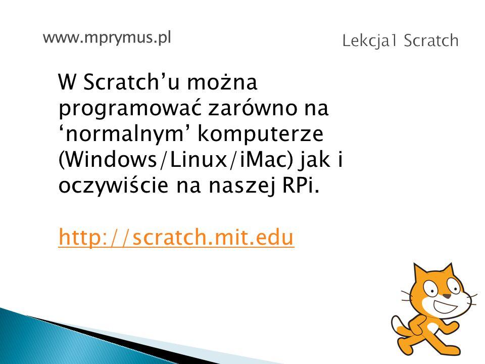 Skąd pobrać Scratch.