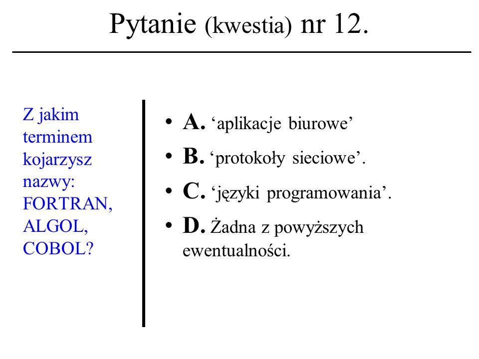 Pytanie (kwestia) nr 11. Zamykanie i otwieranie tzw.