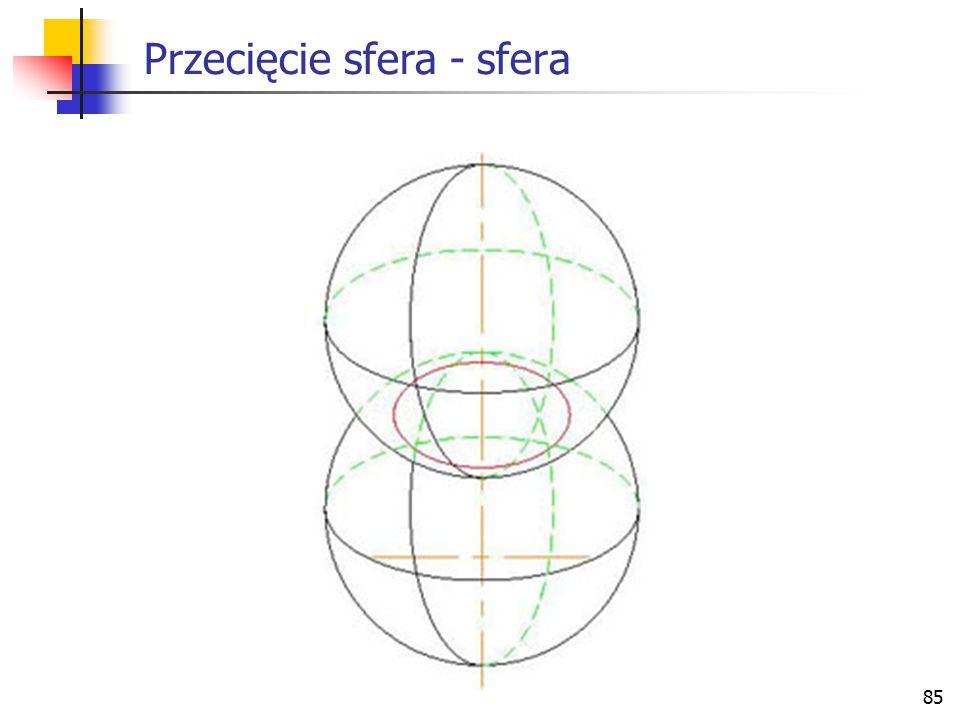 86 Elementy geometryczne i relacje Wektory Definicje elementów geometrycznych Odległości między elementami geometrycznymi Kąty Elementy symetrii Przecięcia Rzuty