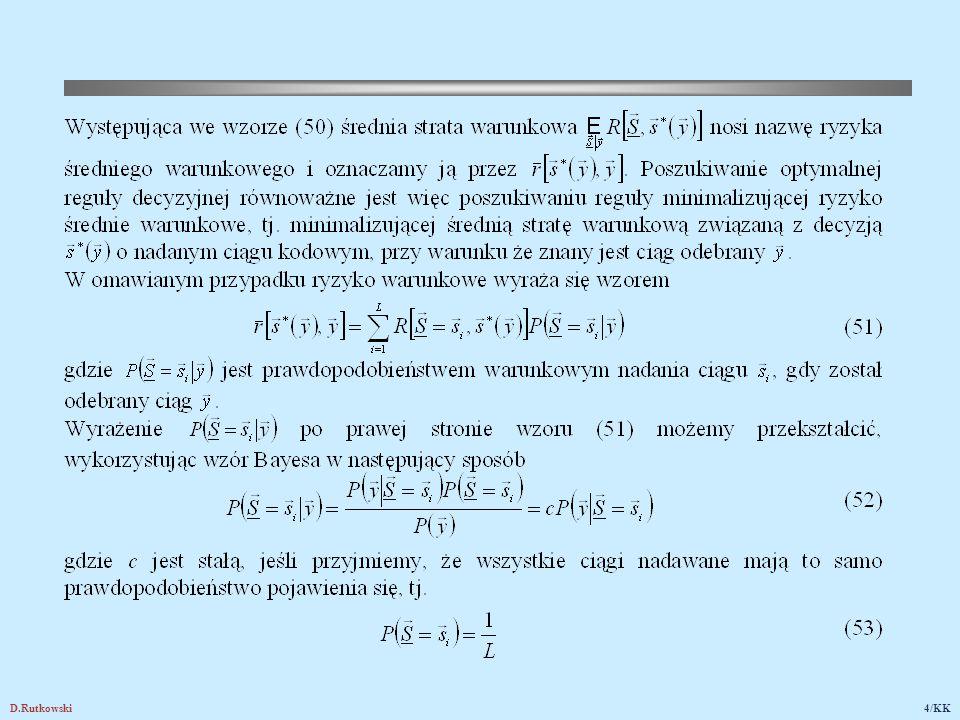 D.Rutkowski15/KK 15. Kodowanie cykliczne w formie systematycznej