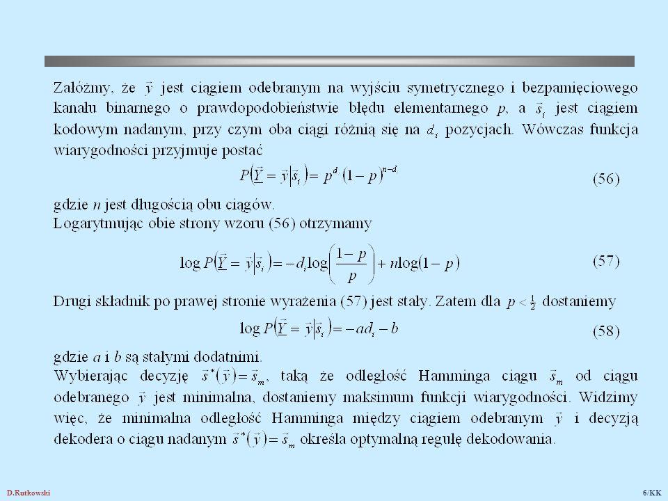D.Rutkowski47/KK a przykład wiadomości reprezentującej stronę 32 telegazety jest następujący Rys.21.