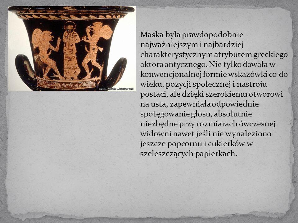 Komedia starogrecka ukształtowała się w V wieku p.n.e.