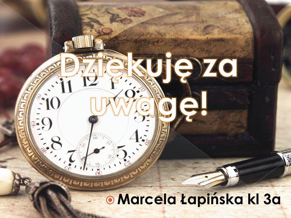  Marcela Łapińska kl 3a