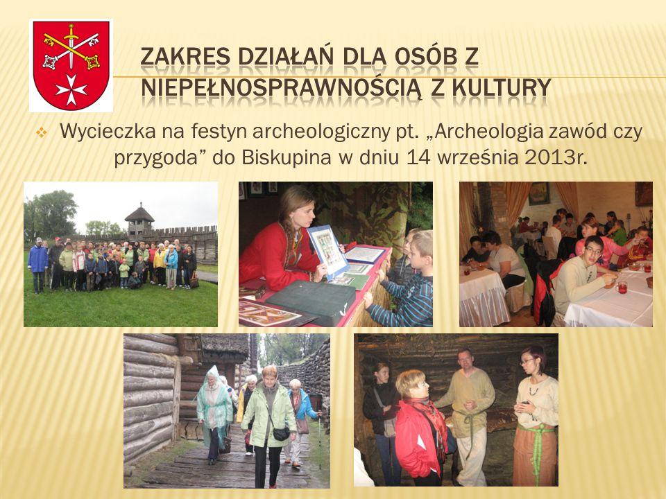  Wycieczka na festyn archeologiczny pt.