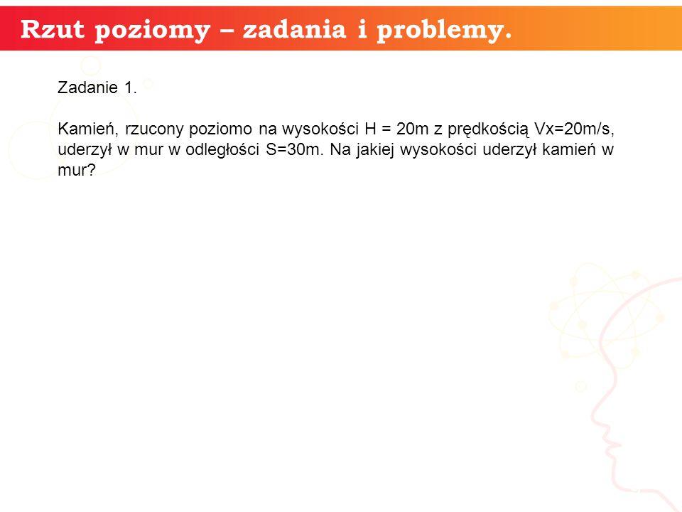 informatyka + 9 Rzut poziomy – zadania i problemy.