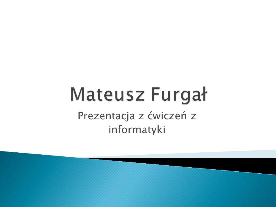 Prezentacja z ćwiczeń z informatyki