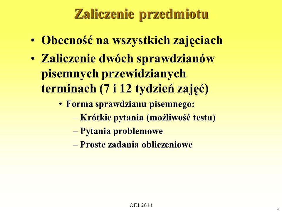 OE1 2014 136 Weryfikacja Twierdzenia Tellegena