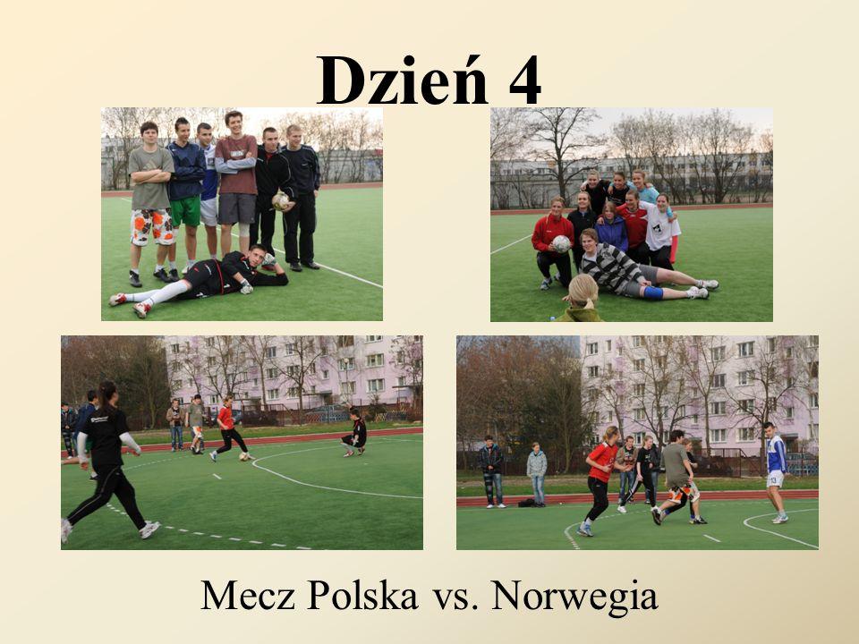 Dzień 4 Mecz Polska vs. Norwegia