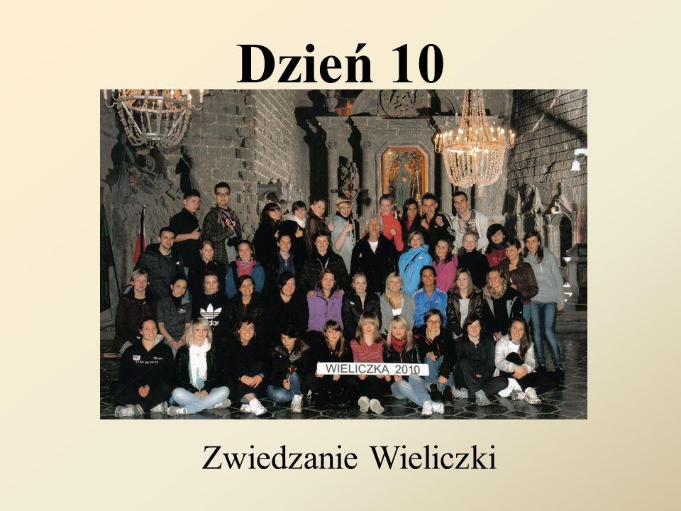 Dzień 10 Zwiedzanie Wieliczki