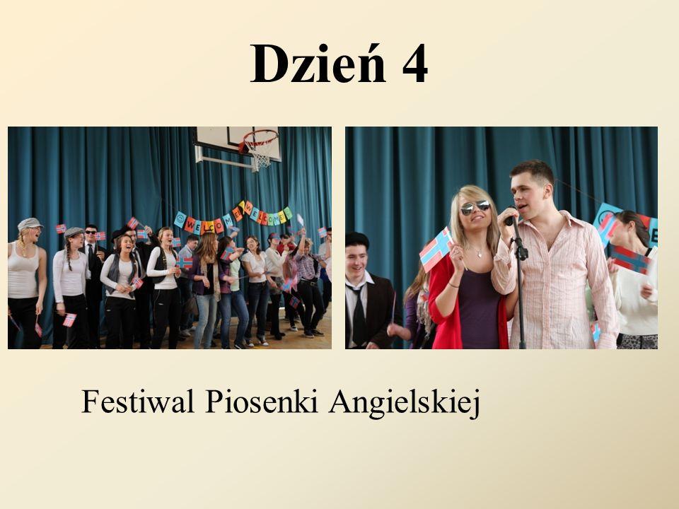 Dzień 4 Festiwal Piosenki Angielskiej